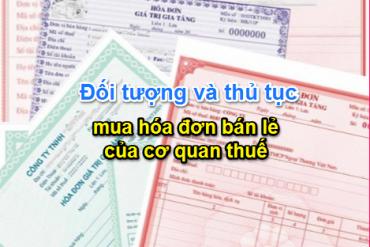 Thủ tục hồ sơ mua hóa đơn bán hàng của cơ quan thuế<