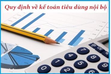 Cách hạch toán hàng tiêu dùng nội bộ theo TT 133 và TT 200<