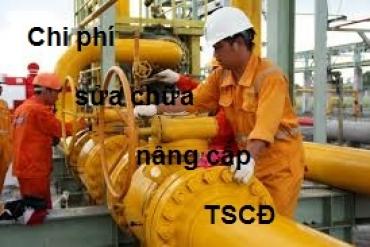Hạch toán các khoản chi phí sửa chữa nâng cấp TSCĐ<